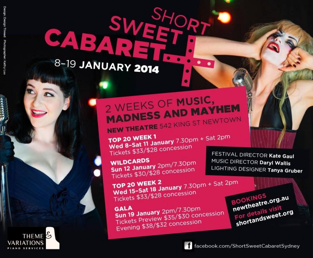 Short Sweet Cabaret
