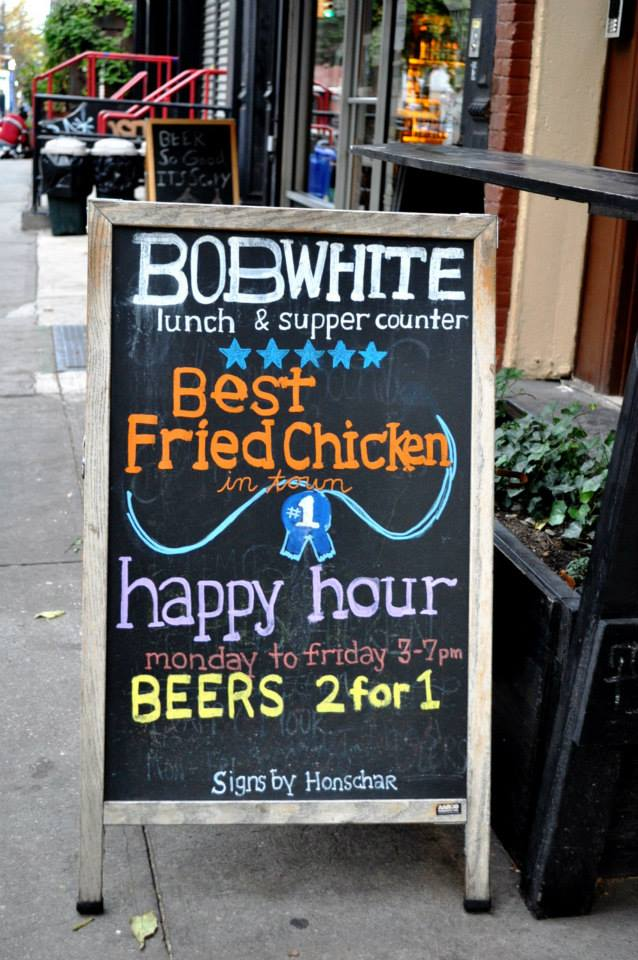 Bob White fried chicken