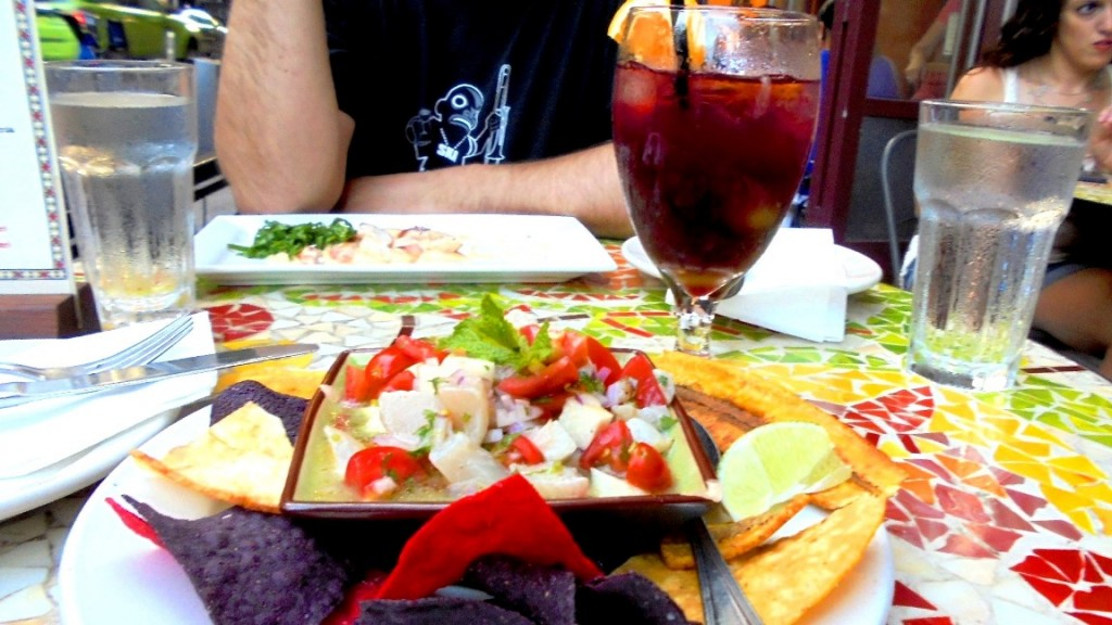 Ceviche from Yuca Bar