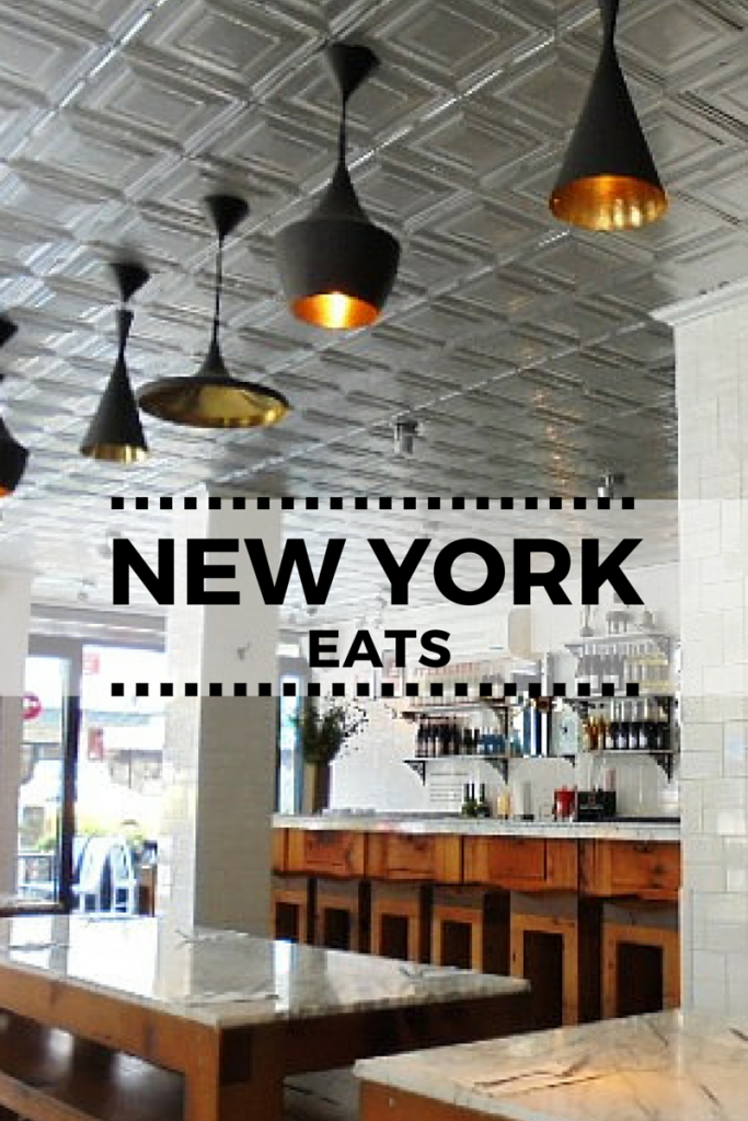 Places to eat in East Village, New York