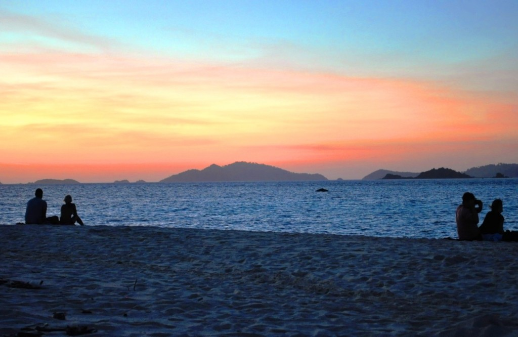 beautiful koh lipe sunset