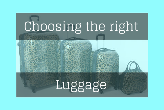 Choosing luggage