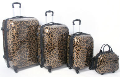 Gold-leopard-luggage-range