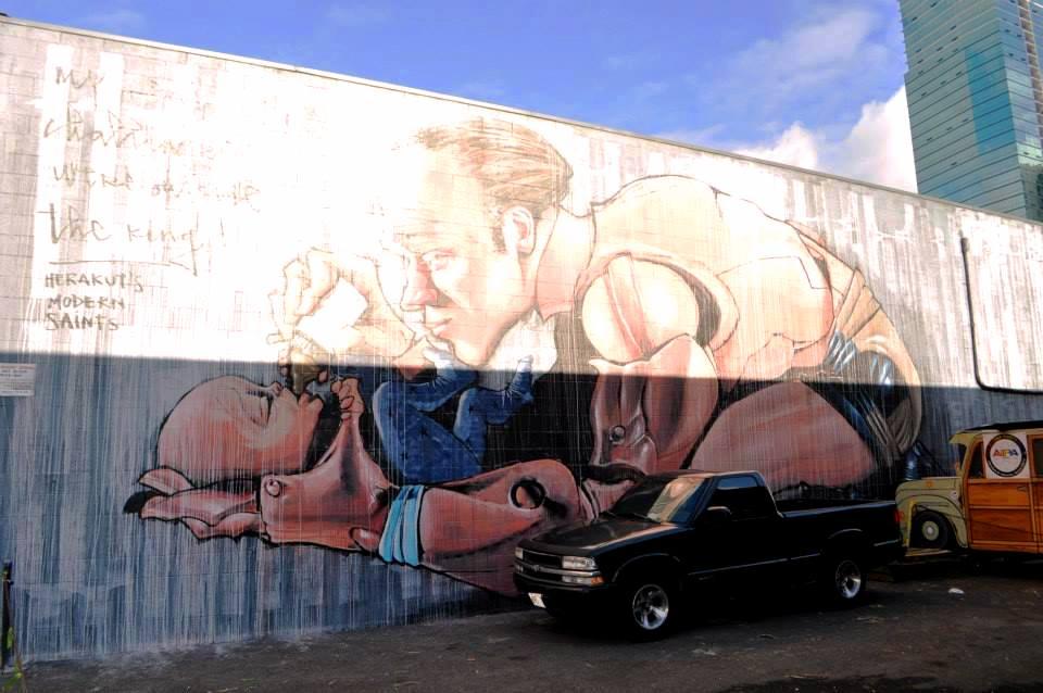 Kaka'ako mural, street art, hawaii