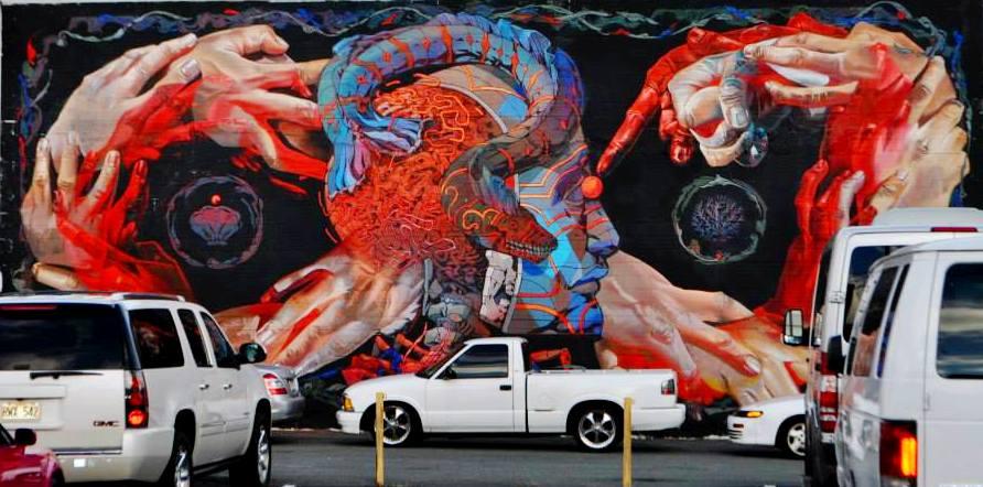 Kaka'ako mural