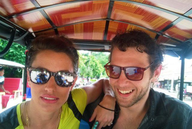 Marie-Luke-tuktuk the Morning After