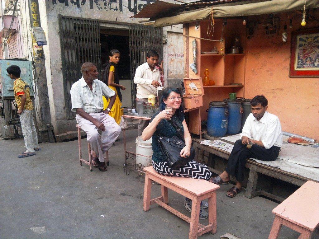Chai stall, Jaipur, Rajasthan, India