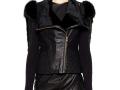 fur shoulder jacket